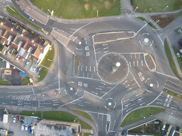 Magic Roundabout. A Masterpiece of Engineering.